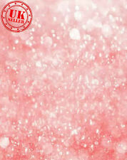 GLITTER PINK LIGHT BOKEH BACKDROP BACKGROUND VINYL PHOTO PROP 5X7FT 150x220CM