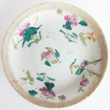 Antique 1736-1795 Qianlong Chinese Export Porcelain Famille Rose Plate / Dish /