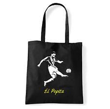 Art T-shirt, Borsa shoulder El Pepita, Nera, Shopper, Mare