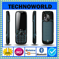 UNLOCKED 3G ZTE T54 TOUGH 2 DUST/WATER/SCRATCH & SHOCK RESISTANT TRADESMAN PHONE