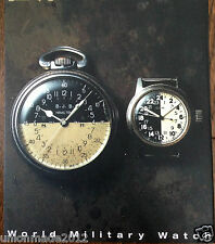World Vintage Military Watch Collection Photo Book Rolex Elgin Hamilton Omeg WW2