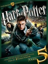 Harry Potter and Order of the Phoenix Ultimate Edition DVD 3-Disc RARE OOP - NEW