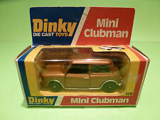 DINKY TOYS 178 MINI CLUBMAN - BRONZE 1:43 - EXCELLENT CONDITION IN BOX