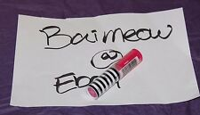 Barbie Pink Lipstick  2016 Walgreens drugstore Limited Edition Exclusive