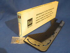 NOS DUAL 1010S TURNTABLE COVER PLATE 12R-U57  IN ORIGINAL BOX