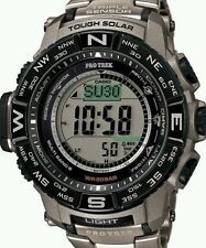 New Casio Men's PRW-3500T-7 Pro Trek Tough Solar Digital Sport Watch