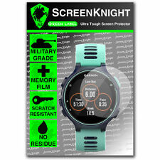 Screenknight Garmin Forerunner 735 XT Protector De Pantalla Invisible Escudo Militar