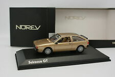 Norev 1/43 - VW Scirocco GT MKII Gold