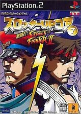 Used PS2 Slotter Up Core 7 Dekitou da Street Fighter II  Japan Import