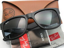 Ray Ban Justin RB 4165 601/8G Black Gray Gradient Made in Italy 54 mm Pick Case