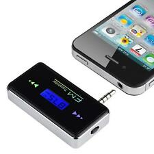 Wireless In-car FM Transmitter 3.5mm Radio Adapter For Smrtphone Iphone Samsung