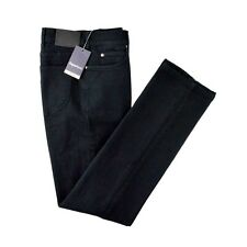 Men's ZEGNA SPORT Regular Fit Cotton Black Denim Jeans 33 Fits 32 NWT $295!