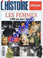 L'histoire n°245 07/2000 Les Femmes 5000 ans pour l'égalité Féminisme