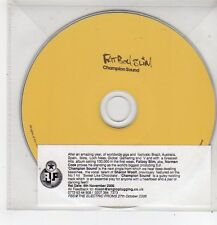 (FF411) Fat Boy Slim, Champion Sound - 2006 DJ CD