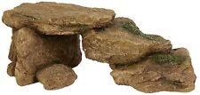 Rocks Terrapin Ramp Vivarium Reptile Decoration Aquarium Rock Ornament