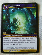 Auslöschen World of Warcraft Tradingcard Blizzard Entertainment TCG WOW