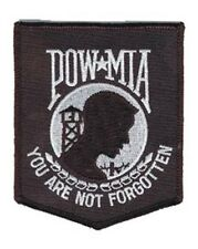 NEW 4 inch tall POW MIA You are not forgotten patch. 7116.