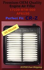 CR-Z 11-13 Premium OEM Quality Air Filters AF6150 Super Fast Ship 17220-RTW-000