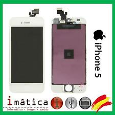 PANTALLA COMPLETA TACTIL + LCD IPHONE 5 5G BLANCA BLANCO APPLE SCREEN ASSEMBLY
