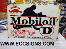MOBIL OIL MOTORCYCLE OIL FITS BSA , TRIUMPH NORTON  PARTS