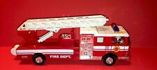 Sonic Fire Engine Fire Dept. With Sound PULL BACK ACTION NEW
