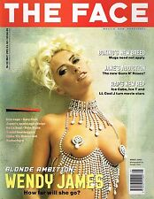 THE FACE May 1991 WENDY JAMES Perry Farrell JANE'S ADDICTION Corinne Day @EXCLT@