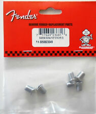 6 BUSHINGS FENDER 0058823049 - chrome - pour toutes guitares Fender, Squier....