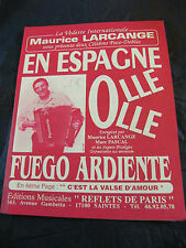 Partition En Espagne Olle Olle Maurice Larcange Marc Pascal  Music Sheet