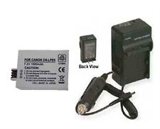 Battery + Charger for Canon SLR EOS Rebel XS Rebel XSi Kiss X3 Digital