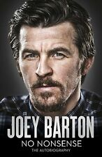 SIGNED BOOK - Joey Barton - No Nonsense - My Autobiography - Football book