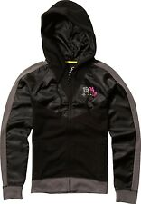 Fox Racing Fox Girl Rider Zip Hoody Black, Small