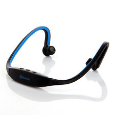 Bluetooth wireless Sports Headsets for iPhone Samsung Galaxy S3/S4/S5 Blue