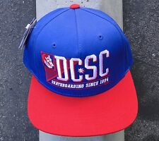 Dc Shoes Skareboard All stars Blue/Red Mens Hat Snapback