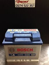 CAR BATTERY 027 12V MAINTENANCE BOSCH S4005 4 YEAR GURANTEE HEAVY DUTY