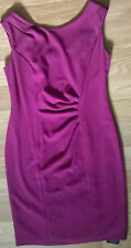 **BNWT**Ladies Deep Pink Dress**KALIKO**Size 12**New**RRP £110