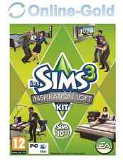 Les Sims 3 Inspiration Loft Kit - High-End Loft Stuff Clé - EA Origin PC carte