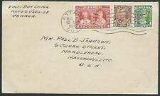 CANADA 1935 Jubilee values on FDC..........................................53093