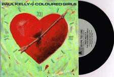 """PAUL KELLY & THE COLOURED GIRLS - BEFORE TOO LONG - 7"""" 45 RECORD w PICT SLV 1986"""