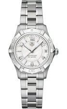 BRAND NEW TAG HEUER LADIES AQUARACER WAF1311.BA0817 32MM MIDSIZE PEARL WATCH