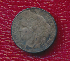 1894-A FRANCE SILVER 50 CENT **KM #834.1** FREE SHIPPING!