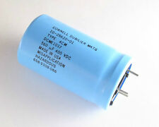 1x CDE 560uF 400V DC Large Can Solder Leaded Electrolytic Capacitor mfd 400VDC