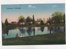 Enschede Volkspark Netherlands Vintage Postcard 404b