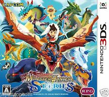 Monster Hunter Stories 3DS NINTENDO JAPANESE  JAPANZON