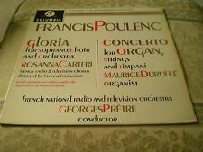 POULENC - GLORIA IN G MAJOR = COLUMBIA SAX 2445 1ST SEMI CIRCLE