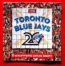 1996 Toronto Blue Jays Shoppers Drug Mart Calendar c