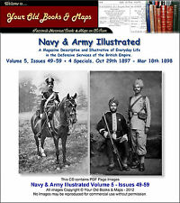 Navy & Army Illustrated Volume 5 1897 - 1898 Issues 49 to 59 + 4 Specials CDROM
