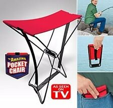 Pocket Chair Pocket silla plegable taburete pescar senderismo concierto camping plegable taburete