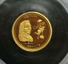 FRANCE  OR PUR 999,9 /GOLD VOLTAIRE 0,50G