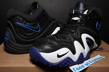 NIKE ID AIR ZOOM FLIGHT FIVE B V RETRO ii JASON KIDD BLACK ROYAL 95 96 PENNY 9.5
