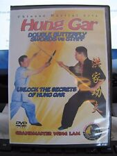 DVD - Hung Gar Double Butterfly Swords vs. Staff with Master Wing Lam